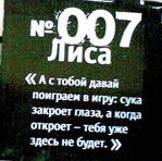 Профиль Номер_007_Лиса
